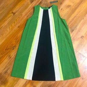 The Limited Color Block Shift Dress